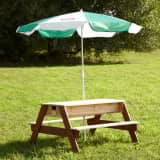 AXI Sand/Water Picnic Table Nick with Umbrella