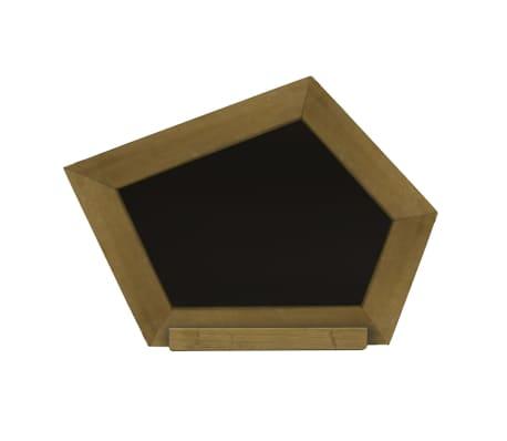 AXI Pizarra con madera curvada marrón A031.007.00