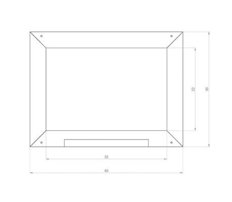 AXI Tafel Klassische Holzausführung Braun A031.007.01[2/2]