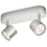 Philips Faretto myLiving LED Star 2x4,5 W Grigio 562424816