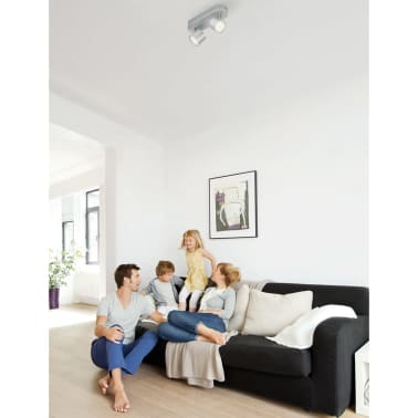 Philips myLiving Focos LED Star 2x4,5 W gris 562424816[2/7]