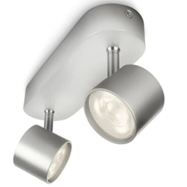 Philips myLiving Focos LED Star 2x4,5 W gris 562424816[4/7]
