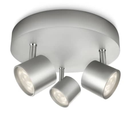 Philips myLiving Focos LED Star 3x4,5 W gris 562434816[1/7]