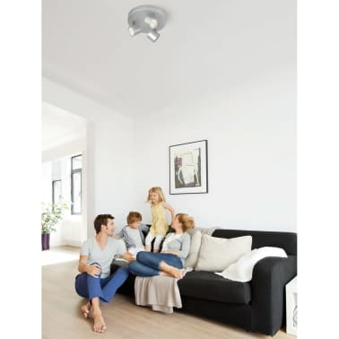 Philips myLiving Focos LED Star 3x4,5 W gris 562434816[3/7]