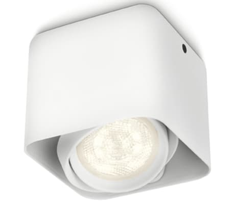 Philips myLiving Foco LED cubo Afzelia 4,5 W blanco 532003116[1/6]