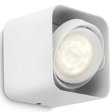 Philips myLiving Foco LED cubo Afzelia 4,5 W blanco 532003116[4/6]