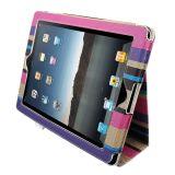Flip Smart Ställ Fodral iPad 2/3 iPad 4 Cover Bohemian Retro