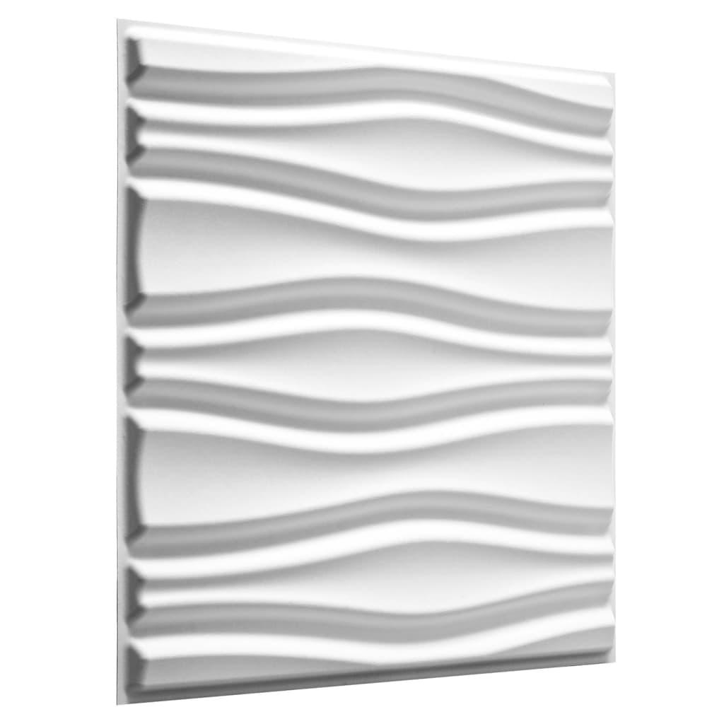 Afbeelding van WallArt 3D Wandpanelen Flows 12 stuks GA-WA14