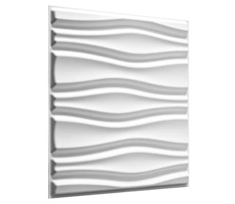 acheter wallart panneaux muraux 3d flows 12 pcs ga wa14 pas cher. Black Bedroom Furniture Sets. Home Design Ideas