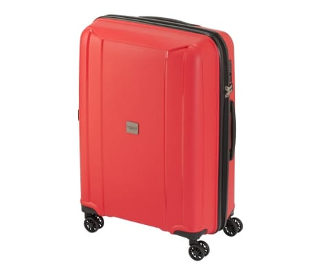 Princess Traveller Maleta con ruedas Havana rojo S