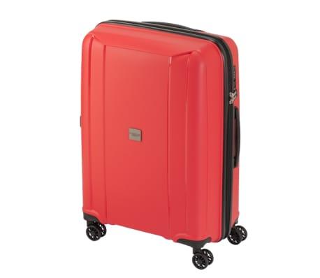 Princess Traveller Maleta con ruedas Havana rojo M