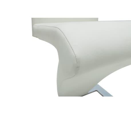 Acheter lot de 2 chaises blanche pas cher for Chaise blanche solde