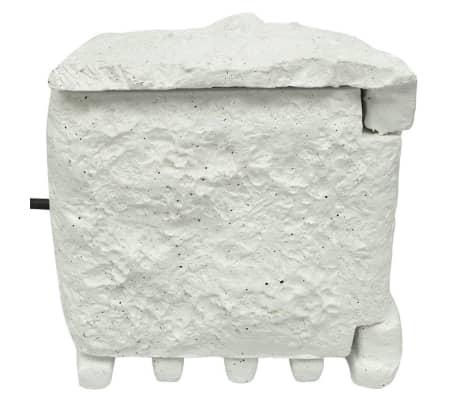 Soquete de jardim com 4 unidades e entalhas prova de água Branco[2/5]