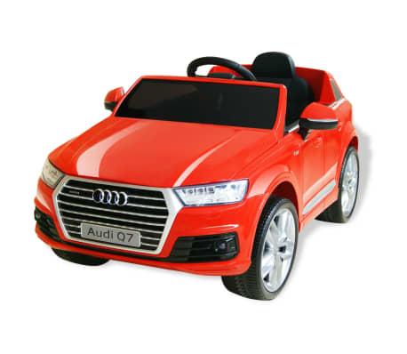 vidaXL elektriskā bērnu automašīna, Audi Q7, sarkana, 6V