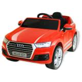 vidaXL Elektrické autíčko Audi Q7, červené, 6 V