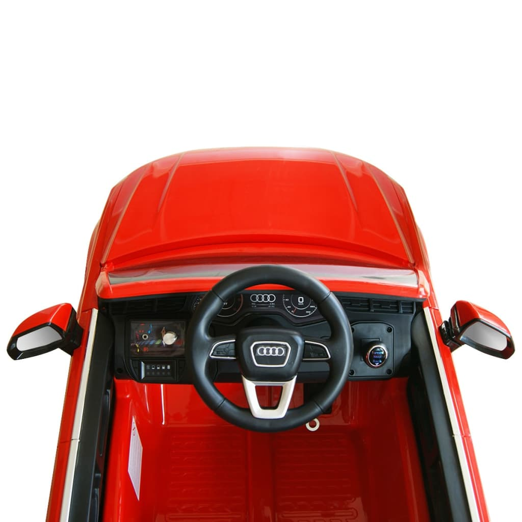Elektrické dětské auto Audi Q7 červené 6 V