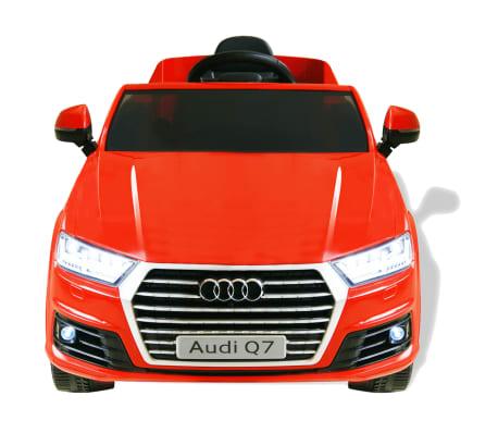 vidaXLi elektriline pealeistutav auto Audi Q7 punane 6 V[2/7]