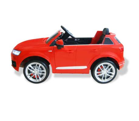 vidaXLi elektriline pealeistutav auto Audi Q7 punane 6 V[4/7]