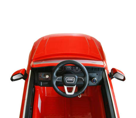 vidaXLi elektriline pealeistutav auto Audi Q7 punane 6 V[6/7]
