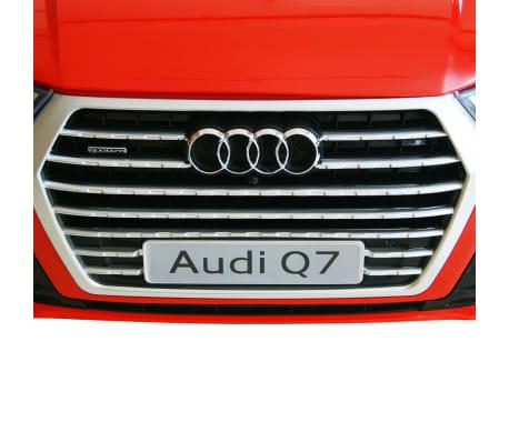 vidaXL Elektrisk barnebil Audi Q7 rød 6 V[7/7]