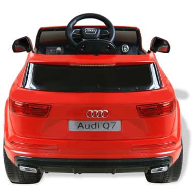 vidaXLi elektriline pealeistutav auto Audi Q7 punane 6 V[3/7]