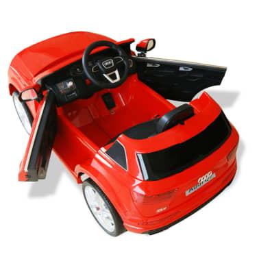 vidaXLi elektriline pealeistutav auto Audi Q7 punane 6 V[5/7]