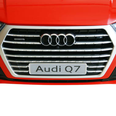 vidaXLi elektriline pealeistutav auto Audi Q7 punane 6 V[7/7]