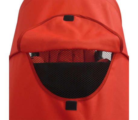 vidaXL Vaikiškas vežimėlis, raudonas, 102x52x100 cm[7/10]