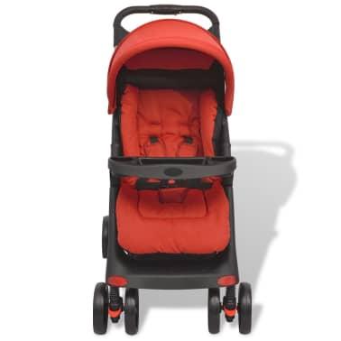 vidaXL Vaikiškas vežimėlis, raudonas, 102x52x100 cm[3/10]