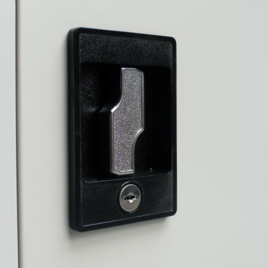 Details About Office Cabinet 35 4 X15 7 X70 9 Steel Furniture Storage Filing