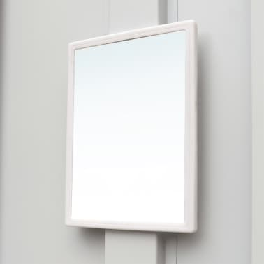 "vidaXL Locker Cabinet with 3 Compartments Steel 35.4""x17.7""x70.9"" Gray[6/8]"