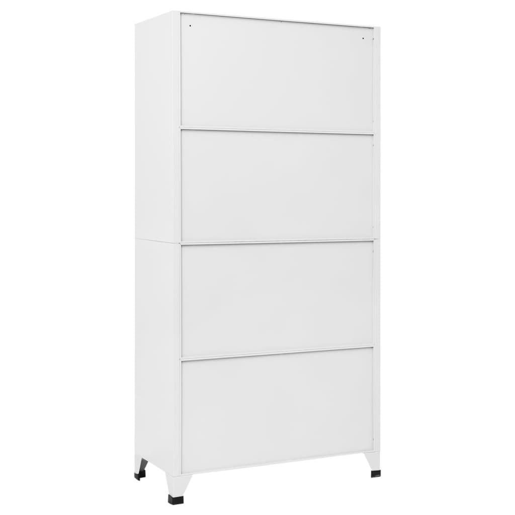 Šatnové skříňky s 9 odděleními 90x45x180 cm ocel šedá