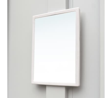 "vidaXL Locker Cabinet with 9 Compartments Steel 35.4""x17.7""x70.9"" Gray[5/7]"