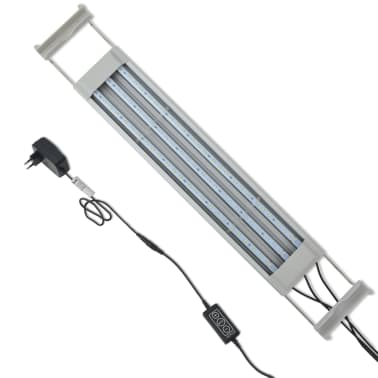 vidaXL Aquarium LED-Lampe 50-60 cm Aluminium IP67[8/14]