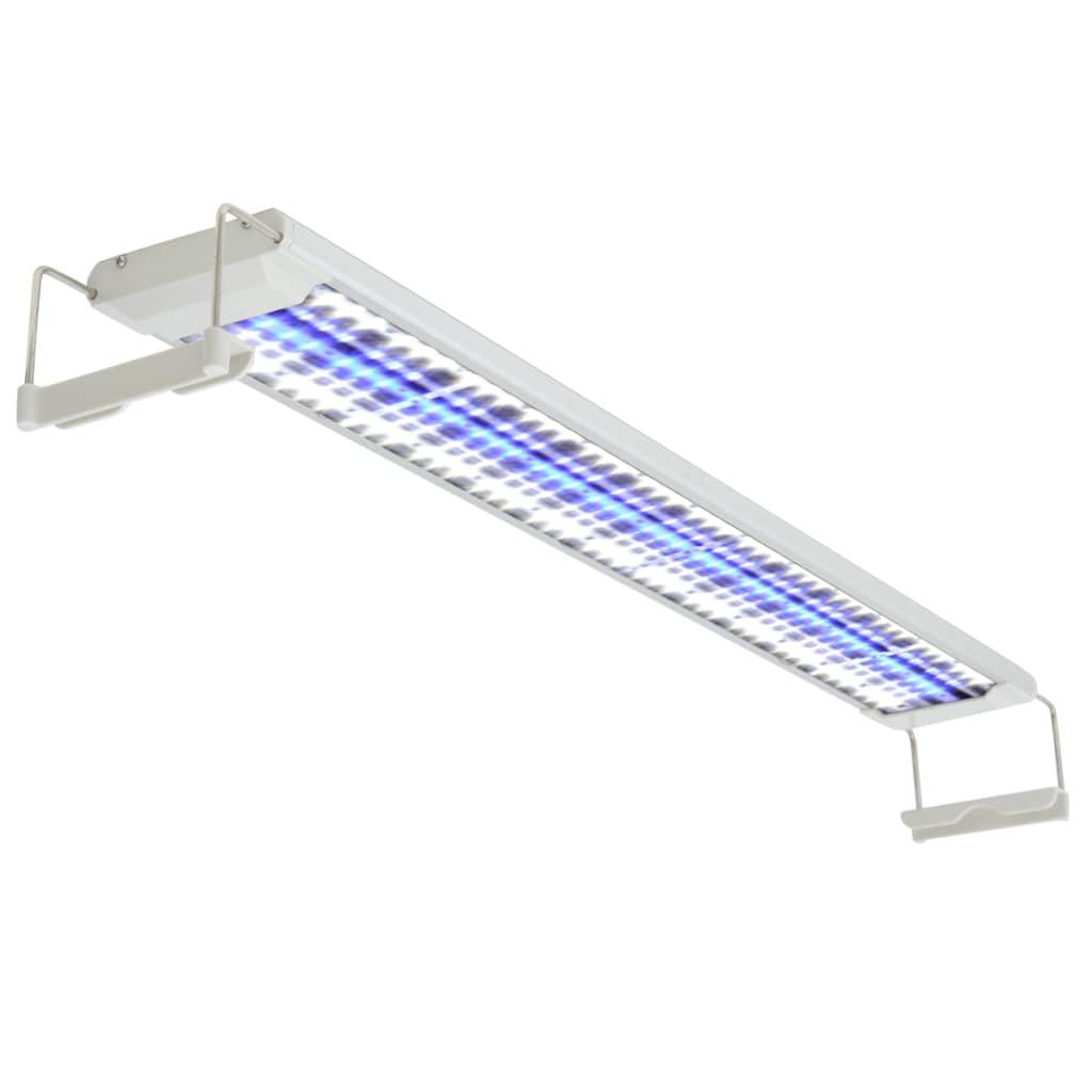 vidaXL Lampă acvariu cu LED, 80-90 cm, aluminiu, IP67 poza vidaxl.ro