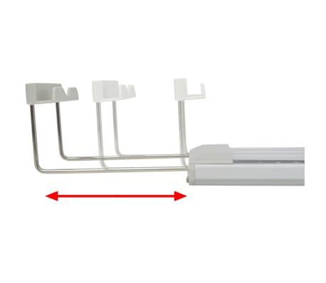 vidaXL LED Akvarijska Svetilka 80-90 cm Aluminij IP67[12/14]