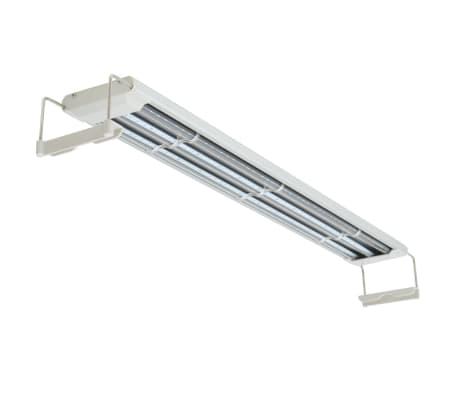 vidaXL LED Akvarijska Svetilka 80-90 cm Aluminij IP67[4/14]