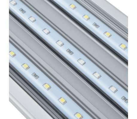 vidaXL Lámpara LED de acuario 80-90 cm aluminio IP67[10/14]