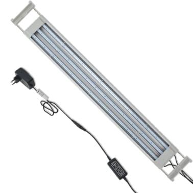 vidaXL LED Akvarijska Svetilka 80-90 cm Aluminij IP67[8/14]