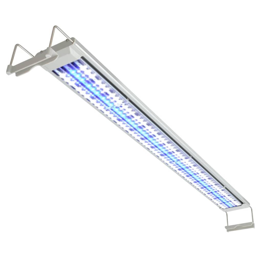 vidaXL LED akvarijní lampa 100–110 cm hliník IP67
