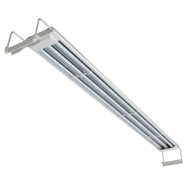 vidaXL Lampe à LED pour aquarium 120-130 cm Aluminium IP67[4/14]