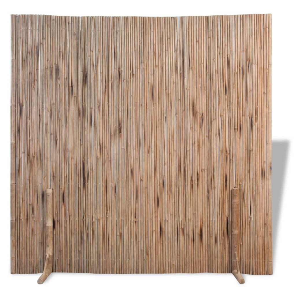 vidaXL Paraván / zahradní zástěna, bambus 180x180 cm