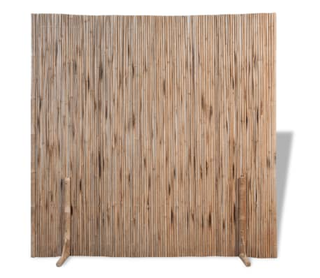"""vidaXL Bamboo Fence 70.9""""x70.9"""""""