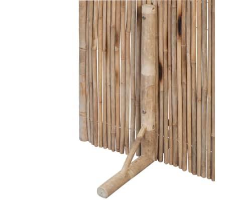 "vidaXL Room Divider Fence Panel Bamboo 70.9""x70.9""[3/6]"