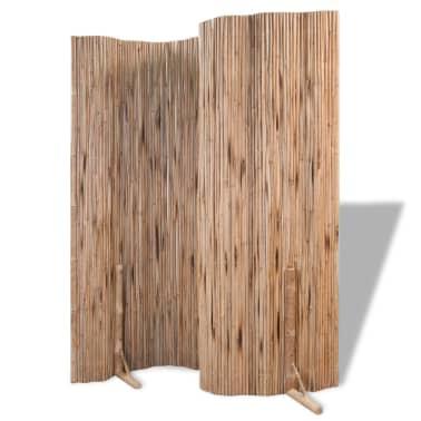 "vidaXL Room Divider Fence Panel Bamboo 70.9""x70.9""[4/6]"