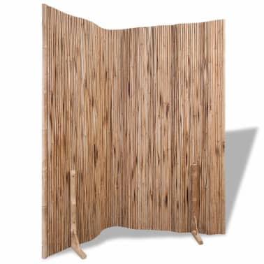 "vidaXL Room Divider Fence Panel Bamboo 70.9""x70.9""[6/6]"