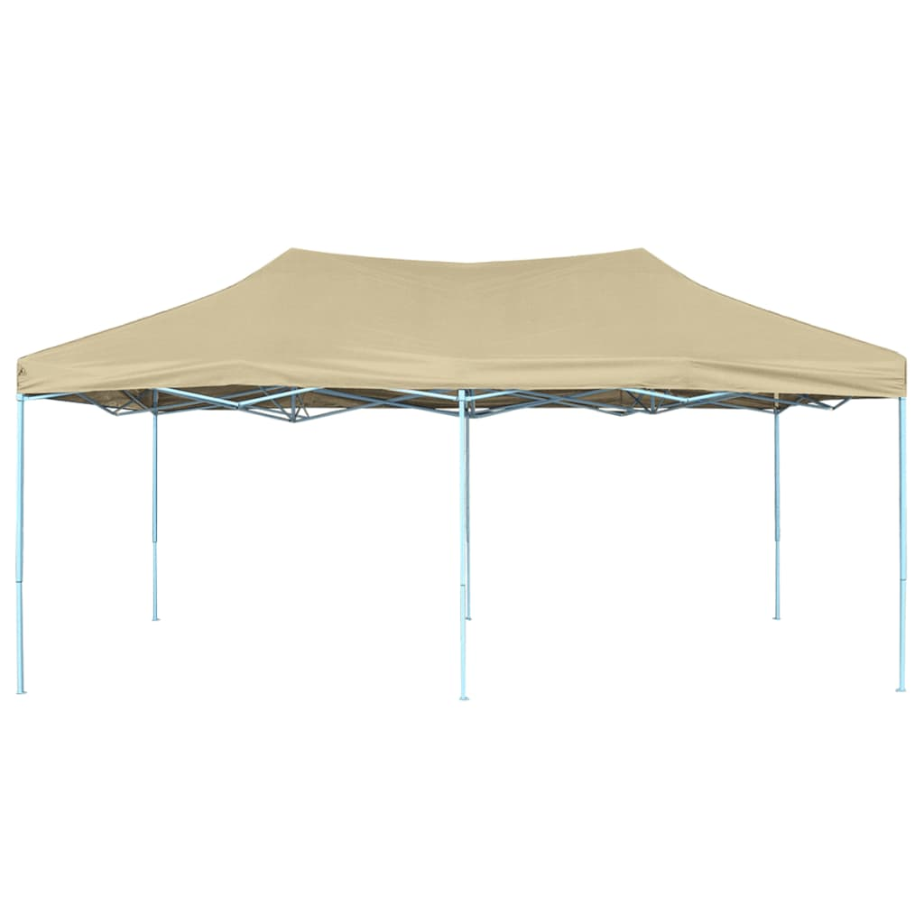 vidaXL Vouwtent pop-up 3x6 m cremewit