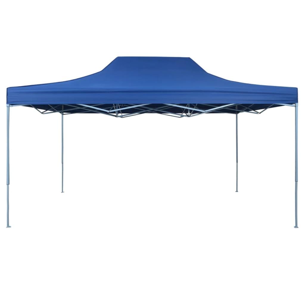 vidaXL Vouwtent pop-up 3x4,5 m blauw