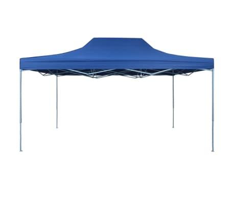 vidaXL foldbart telt pop-up 3 x 4,5 m blå[2/10]