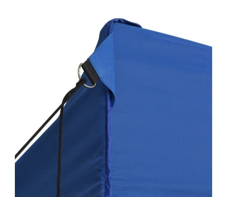 vidaXL Faltzelt Pop-Up mit 4 Seitenteilen 3 x 4,5 m Blau[5/11]